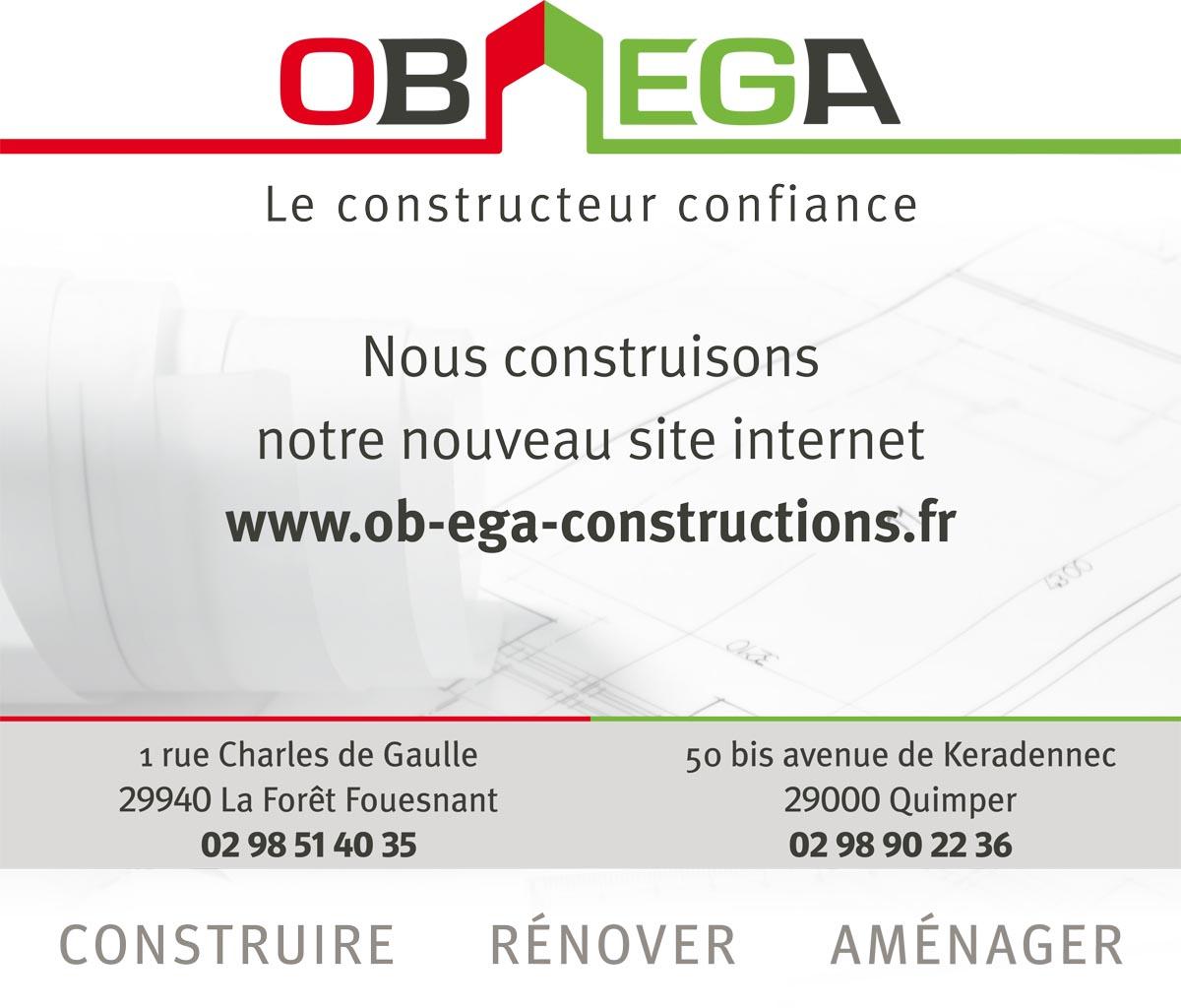OB EGA Constructions Un site utilisant WordPress
